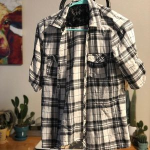 Flannel like top from Maurice's